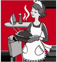 Haushälterin